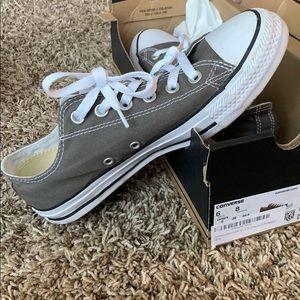 converse shoes - grey